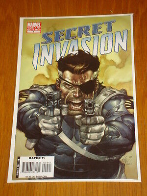 Secret Invasion #4 Marvel Comics Variant Edition Cover Leinill Francis Yu 1.50
