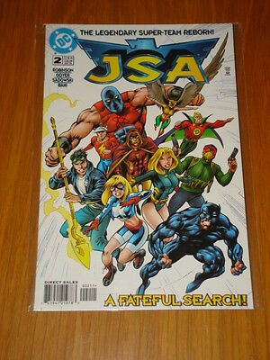 Justice Society Of America #2 Vol 1 Dc Comic Jsa September 1999
