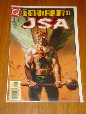Justice Society Of America #23 Vol 1 Dc Comic Jsa June 2001