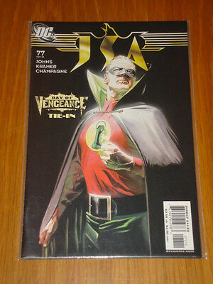 Justice Society Of America #77 Vol 1 Dc Comic Jsa November 2005