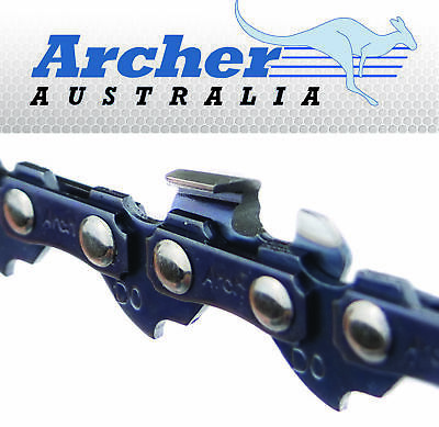 "16"" Archer Chainsaw Saw Chain Fits Aldi Gardenline Chainsaw Pack Of 2"
