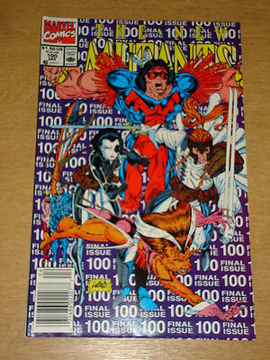 New Mutants #100 Marvel Comics Double Size Final Issue Cable Domino April 1991 X