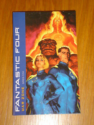 Fantastic Four War Zone Tpb Greg Cox Marvel Press