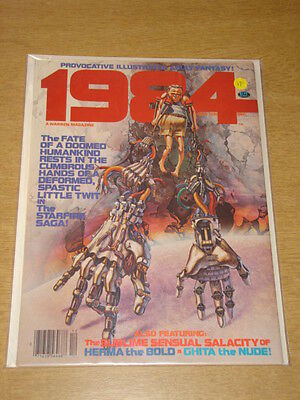1984 #10 1979 Dec Vf Warren Us Magazine Fantasy