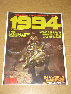 1994 #16 1980 Dec Vf Warren Us Magazine Fantasy