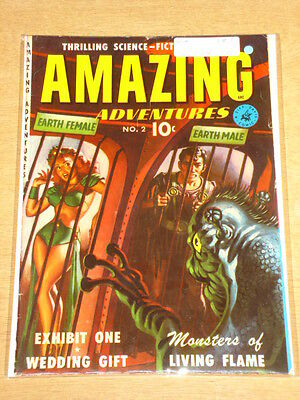 Amazing Adventures #2 Vg+ (4.5) Ziff Davis Comics May 1951