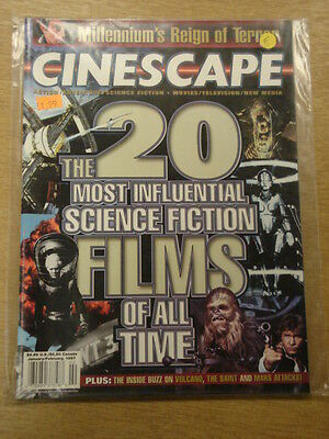 Cinescape 1997 Jan-Feb Vf Science Fiction Sendai Media Group Us Magazine Spock