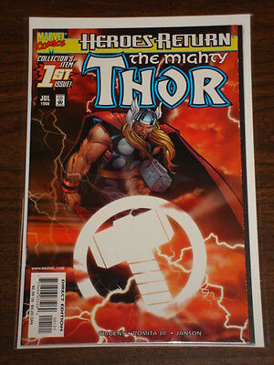 Thor #1 Vol2 The Mighty Sunburst Variant Marvel Comics July 1998