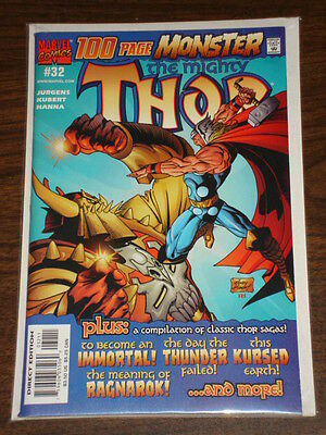 Thor #32 Vol2 The Mighty Marvel Comics 100 Pages February 2001