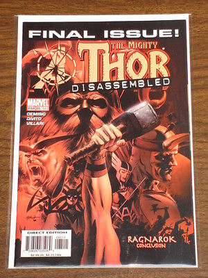 Thor #85 Vol2 The Mighty Marvel Comics Death Of Thor December 2004