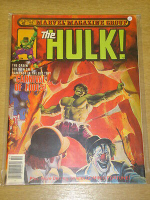 Incredible Hulk #25 1981 Feb Vf Magazine Management Us Mag Rampaging