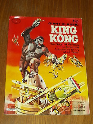 King Kong Giant Classic Original Version 1968 World Distributors Uk Magazine~