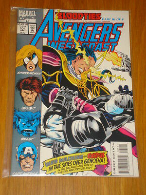 West Coast Avengers #101 Vol 1 Marvel Comic Blood Ties December 1993