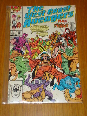 West Coast Avengers #15 Vol 1 Marvel Comic December 1986