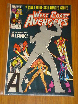 West Coast Avengers Limited Series #2 Marvel Comic October 1984