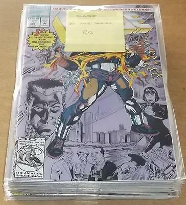 Cage #1-20 Marvel Avengers Punisher 1992 Set (20)