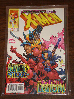 X-Men #77 Vol2 Marvel Comics Wolverine July 1998