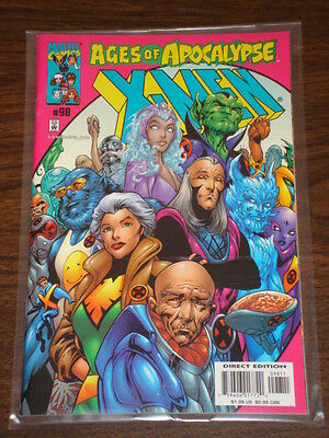 X-Men #98 Vol2 Marvel Comics Wolverine March 2000