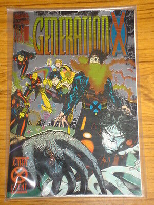 X-Men Generation X #1 Vol1 1St App Chamber Chromium Cvr November 1994
