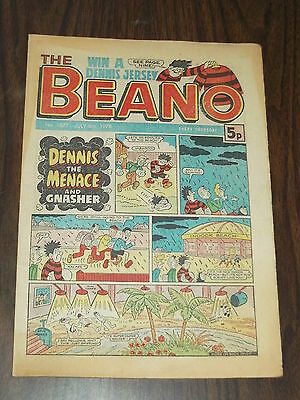 Beano #1877 July 8 1978 Dennis The Menace Gnasher British Weekly Comic^