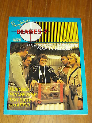Blakes 7 #9 Marvel British Monthly June 1982 (A)^