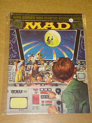 Mad Magazine #262 1984 Feb Vf Thorpe And Porter Uk Magazine Wargames