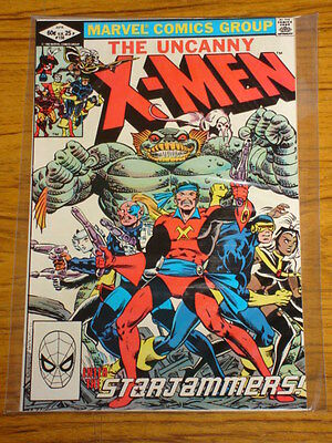 X-Men Uncanny #156 Marvel Comics 1St App Star Jammers April 1982