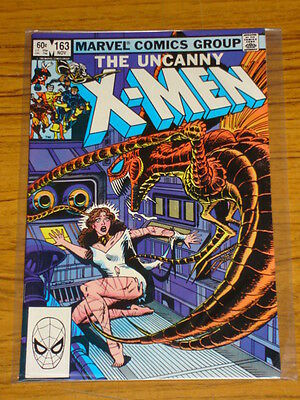 X-Men Uncanny #163 Marvel Comics 1St App Binary Scarce November 1982