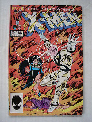 X-Men Uncanny #184 Marvel Comic 1St App Forge August 1984