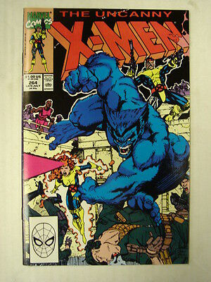 X-Men Uncanny #264 Marvel Comic High Grade July 1990