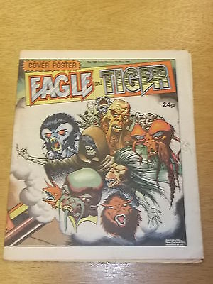 Eagle And Tiger #163 British Weekly 4Th May 1985 Doomlord^