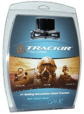 Natural Point TrackIR 4 Pro Optical Head Tracking Tracker Controller System NEW