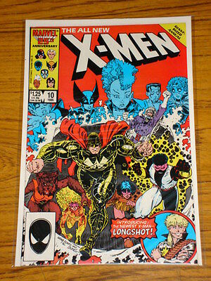 X-Men Uncanny Annual #10 Long Shot Joins X-Men Scarce 1986