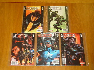 Ultimate Nightmare #1-5 Marvel Comics Warren Ellis 2004 Set (5)