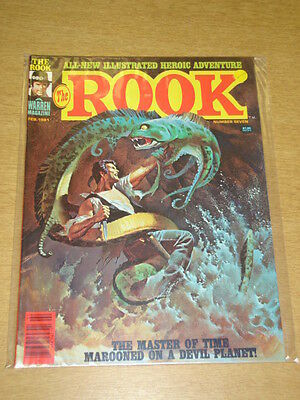 Rook #7 1981 Feb Nm Warren Us Magazine