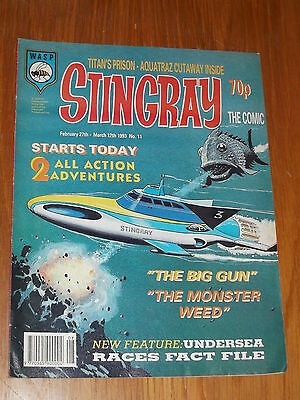 Stingray #11 British Comic February 27 - 12 March 1993^