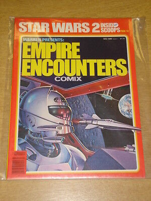 Warren Presents #9 1980 Nov Empire Encounters Vf Warren Us Magazine Star Wars