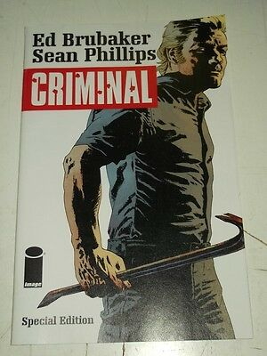 Criminal Special Edition Image Comics February 2015