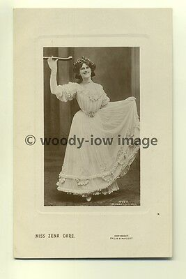 b0267 - Stage Actress - Zena Dare - postcard