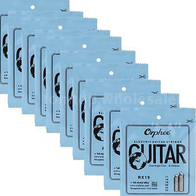 ELECTRIC GUITAR STRINGS 10 SET Orphee-REGULAR SLINKY(.011-.050) 73PM