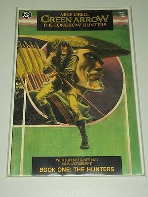 Green Arrow Longbow Hunters Book 1 Hunters Dc Comics Mike Grell Graphic Novel<