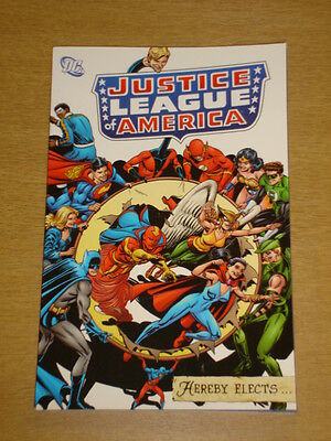 Justice League Of America Hereby Elects Dc Comics Jla Graphic Novel 1401212670