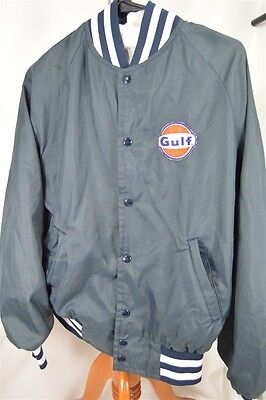 Gulf Vintage Navy Blue Small ( NO SIZE ) Men's Jacket Coat