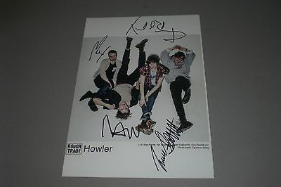 Howler World of Joy  signed autograph Autogramm 8x11 photo in person