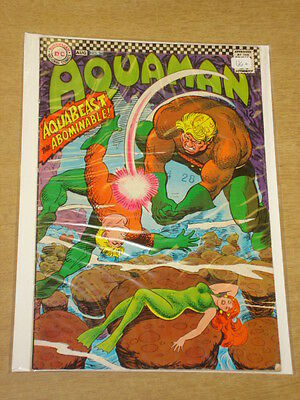 Aquaman #34 Vg+ (4.5) Dc Comics August 1967 **