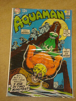 Aquaman #44 Vg+ (4.5) Dc Comics April 1969 **