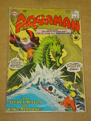 Aquaman #9 G+ (2.5) Dc Comics June 1963 < **