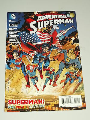 Adventures Of Superman #16 Dc Comics October 2014 Nm (9.4)