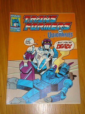 Transformers British Weekly #217 Marvel Uk Comic 1989
