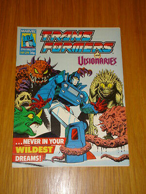 Transformers British Weekly #219 Marvel Uk Comic 1989